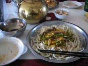 新疆ウイグルイスラム食堂のラグメン