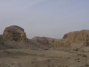 クチャ クズルガハ石窟
