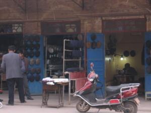 帽子の製造販売(カシュガル)