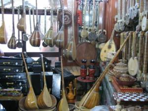 楽器店(カシュガル)
