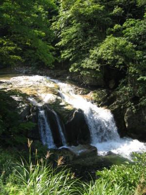 照葉峡 木精の滝
