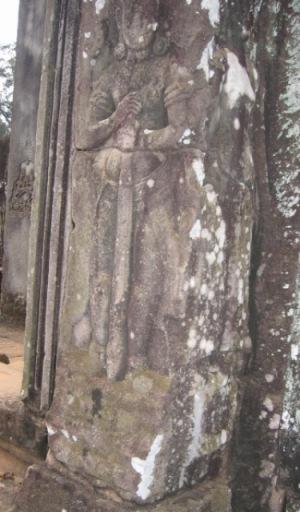 バイヨン寺院のドヴァラパラ