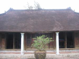 フクティク村の家屋