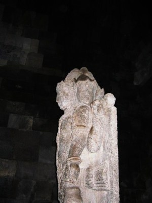 プランバナン寺院ブラフマ像