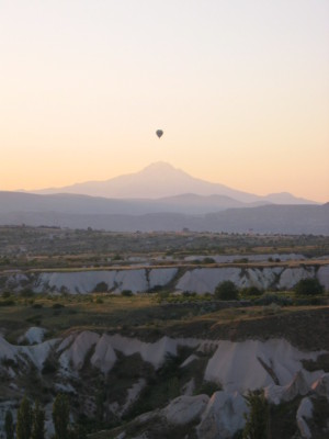 カッパドキア 気球