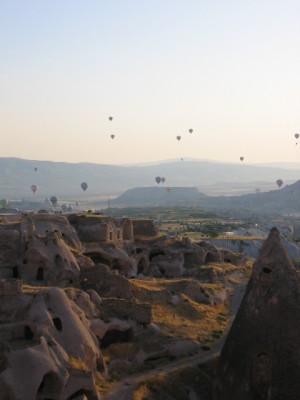 カッパドキア 気球群