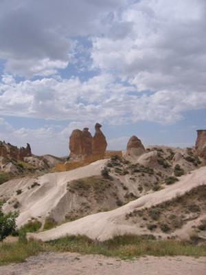カッパドキア ラクダ岩