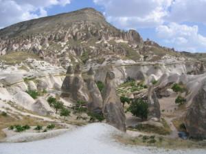 カッパドキア セルベ谷