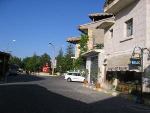 カッパドキア ウチヒサールの広場
