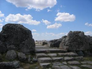 ハットゥシャ 大神殿 正門
