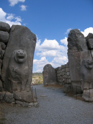 ハットゥシャ ライオンの門