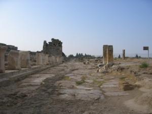 ヒエラポリス  北門