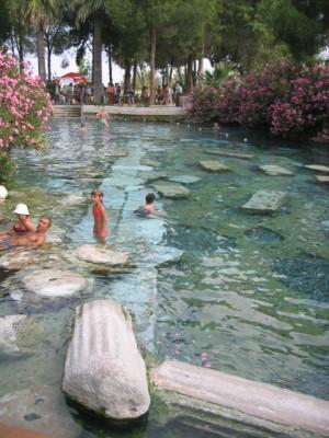 ヒエラポリス パムッカレ温泉