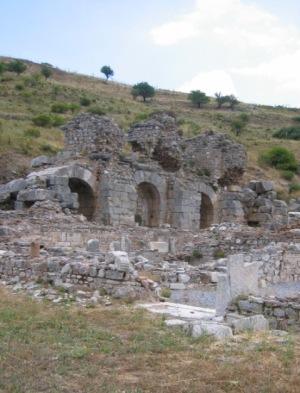 エフェスの遺跡 ローマ風呂