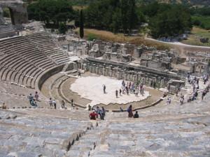 エフェスの遺跡 大劇場