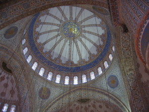イスタンブール ブルーモスク