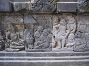プランバナン寺院 ラーマヤナ浮彫