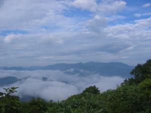 三国山 山頂