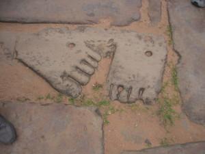 アンコールの足跡