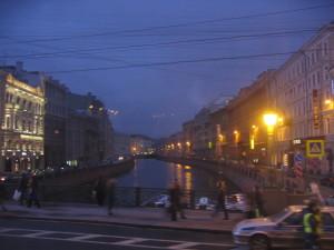 サンクトペテルブルグ夜景 モイカ運河