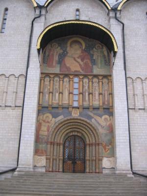 モスクワ ウスペンスキー寺院