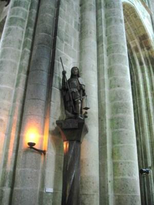 僧院聖堂の大天使聖ミカエル