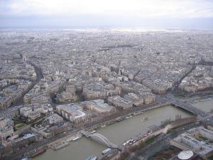 パリのセーヌ