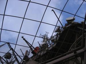 エッフェル塔のアンテナ群
