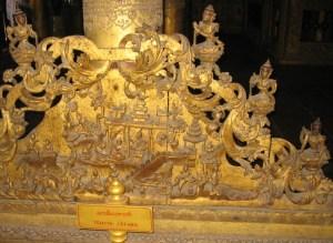 マンダレー シュエナンドー寺院 TEMIYA JATAKA