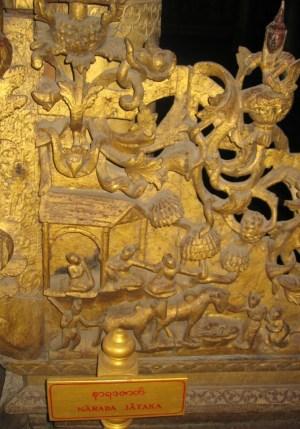 マンダレー シュエナンドー寺院 NARAD  JATAKA