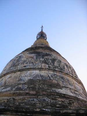 バガン シュエサンドー・パゴダの仏塔