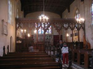 シュードリー キャッスル セントマリア教会