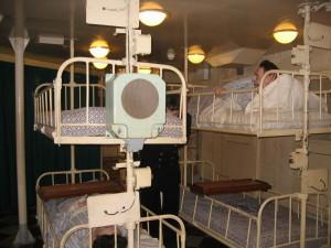 ベルファスト号 病室