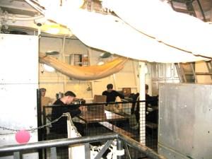 ベルファスト号 船室