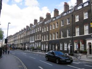 ロンドンのマンション