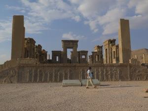 ペルセポリス ダリウス大王の宮殿