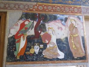 イスファハン 四十柱宮殿