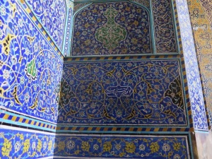 イスファハン  シャイフ・ロトフォラー・モスク