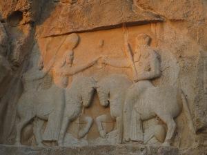 ササン朝ペルシャの叙任式