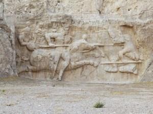 ササン朝ペルシャ 戦闘図
