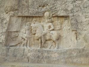 ササン朝ペルシャ 戦勝図