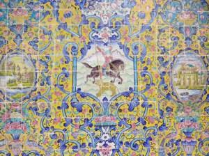 テヘラン ゴレスターン宮殿