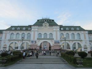 ハバロフスク駅舎
