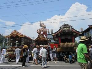 祇園祭の山車