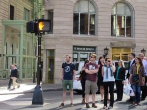 ボストン 横断歩道