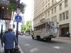 ボストン 舟形観光バス