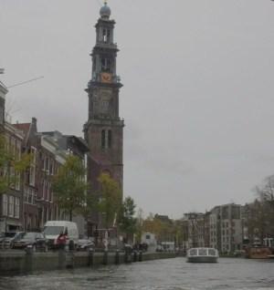アムステルダム 運河 観光船