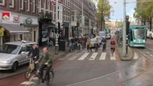 アムステルダムの自転車通勤