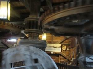 ザーンセ・スカンスの風車内部