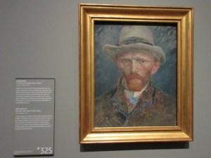 ゴッホ 自画像 アムステルダム国立美術館